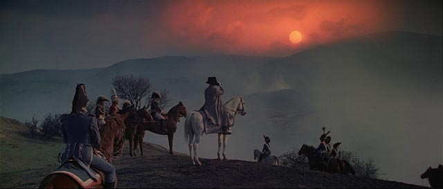 Napoleon surveys the field of battle in Sergei Bondarchuk's War and Peace (1966-67)