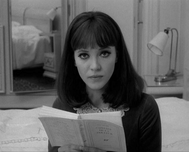 Anna Karina as Natacha von Braun rejects the soulless society created by her father in Jean-Luc Godard's Alphaville (1965)