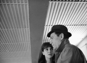 Jean-Luc Godard evokes a soulless future with contemporary architecture in Alphaville (1965)