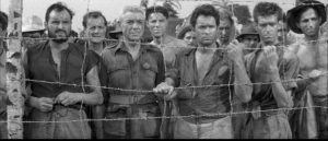 British prisoners face torture and violent death in Val Guest's The Camp on Blood Island (1958)
