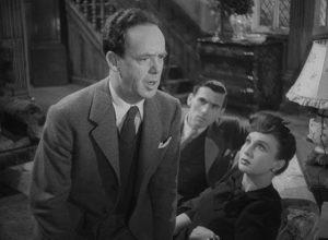 Walter Craig (Mervyn Johns) experiences deja vu in Ealing's horror anthology Dead of Night (1945)