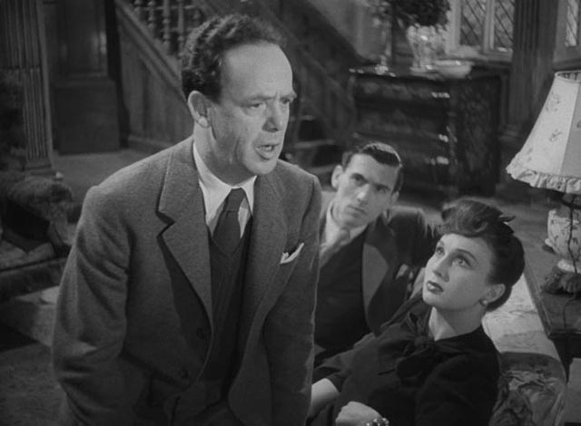 Walter Craig (Mervyn Johns) experiences deja vu in Ealing's horror anthology Dead of Night (1945)