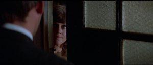 John Klute (Donald Sutherland) tries to question Bree Daniels (Jane Fonda) in Alan Pakula's Klute (1971)