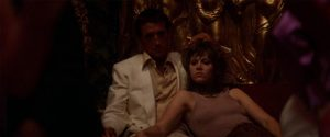 Bree Daniels (Jane Fonda) retreats to the false security offered by her pimp (Roy Scheider) in Alan Pakula's Klute (1971)