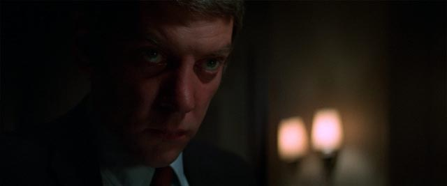 John Klute (Donald Sutherland) knows the threat is real in Alan Pakula's Klute (1971)