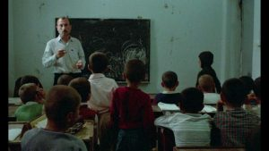 The classroom breeds fear and anxiety for village boys in Abbas Kiarostami's Where is the Friend's House? (1987)