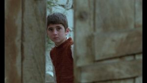 Ahmad (Babak Ahmadpour) searches for his friend in an unfamiliar village in Abbas Kiarostami's Where is the Friend's House? (1987)