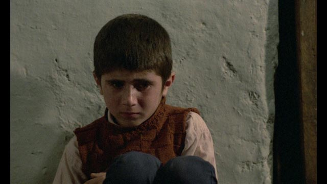 Ahmad (Babak Ahmadpour) reaches a point of despair before finding a solution to his problem in Abbas Kiarostami's Where is the Friend's House? (1987)