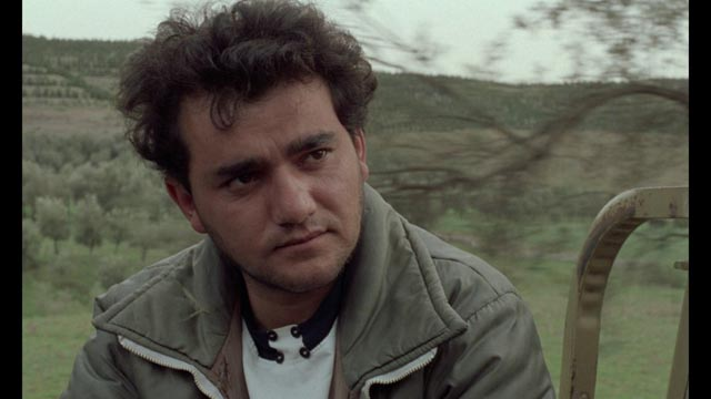 Hossein (Hossein Rezai) explains his ideas about creating a more equal and harmonious society in Abbas Kiarostami's Through the Olive Trees (1994)