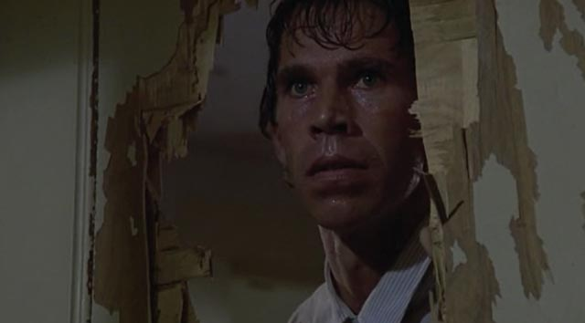 Brian Libby is a psychotic superman in Michael Miller's Silent Rage (1982)