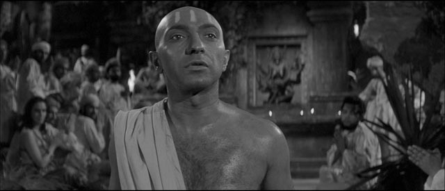 George Pastell as the leader of the Kali cult in Terence Fisher's The Stranglers of Bombay (1959)