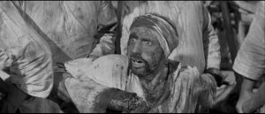 Graphic imagery is more respectable in black-and-white in Terence Fisher's The Stranglers of Bombay (1959)