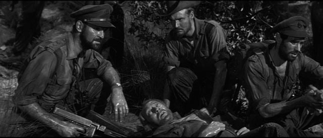 Captain Langford (Stanley Baker) faces impossible choices in Val Guest's Yesterday's Enemy (1959)
