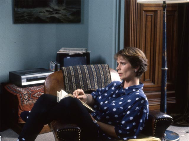 Barbara Thorburn (Celia Imrie) tries to piece together memories of her mother in Margaret Tait's Blue Black Permanent (1992)