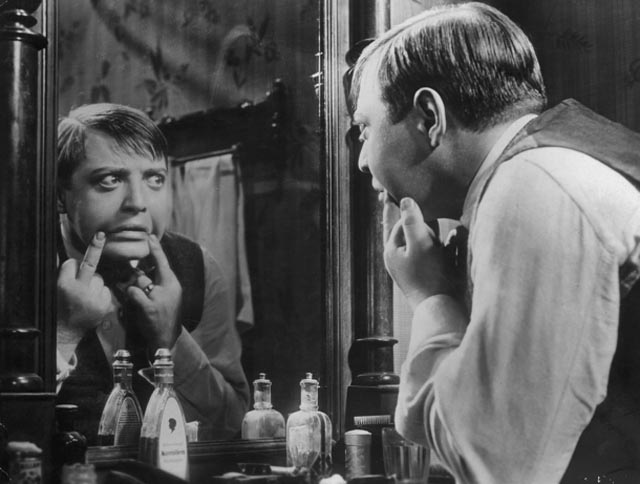 Peter Lorre as the child-murderer in Fritz Lang's M (1931)
