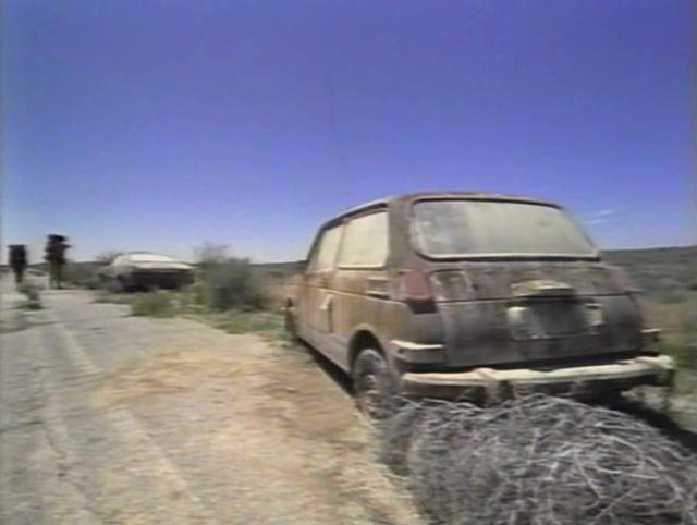 The desolate remnants of a world stripped of human life in Peter Fonda's Idaho Transfer (1973)