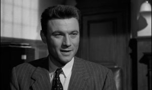 Joe Lampton (Laurence Harvey) stops at nothing to climb the social ladder in Jack Clayton's Room at the Top (1959)