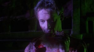 ... but Dennis (Ted Raimi) can't control his dark urges in Ivan Nagy's Skinner (1993)