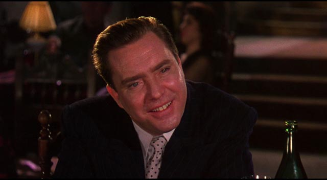 Edmond O'Brien as Oscar Muldoon, buffoonish representative of a corrupt industry in Joseph L. Mankiewicz's The Barefoot Contessa (1954)