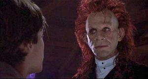 Edward Furlong is seduced by a demon (T. Ryder Smith) in John Flynn's Brainscan (1994)