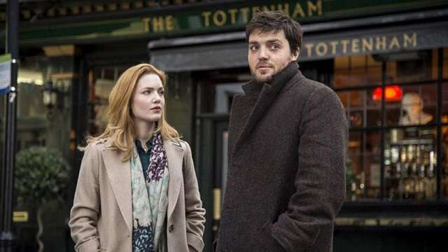 Tom Burke and Holliday Grainger as J.K. Rowling's detectives in C.B. Strike (2017-18)