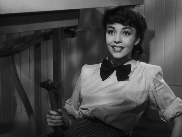 .. to Cluny (Jennifer Jones)'s enthusiasm for plumbing in Ernst Lubitsch's Cluny Brown (1946)