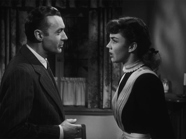 Adam Belinski (Charles Boyer) is enthralled by the unconventional Cluny Brown (Jennifer Jones) in Ernst Lubitsch's final film