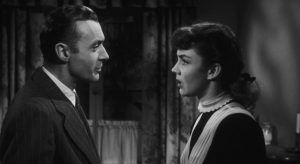 Adam Belinski (Charles Boyer) is enthralled by the unconventional Cluny Brown (Jennifer Jones) in Ernst Lubitsch's final film (1946)
