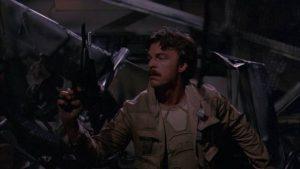 Edward Albert Jr. explores a dangerous planet in B.D. Clark's Galaxy of Terror (1981)