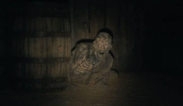 There's something hiding in the basement in Mike Flanagan's The Haunting of Hill House (2019)