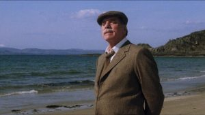 Felix Happer (Burt Lancaster) is looking for something beyond more excessive wealth in Bill Forsyth's Local Hero (1983)