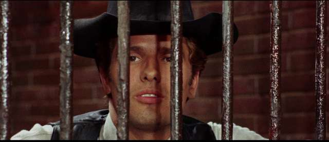 Giuliano Gemma makes a deal to get out of jail in Duccio Tessari's A Pistol for Ringo (1965)