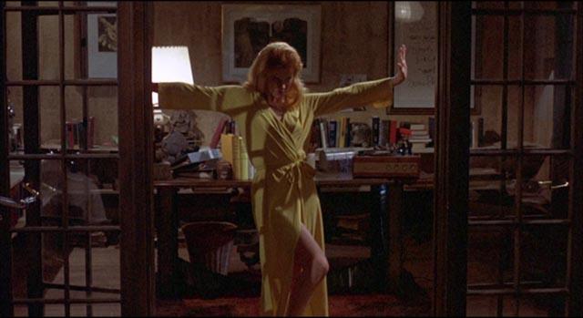 """Graduate student"" Rhoda (Ann-Margret) doesn't have time for revolution in Stanley Kramer's R.P.M. (1970)"
