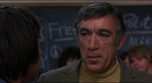 """Paco"" Perez (Anthony Quinn) tries to put his liberal theories to work in Stanley Kramer's R.P.M. (9170)"