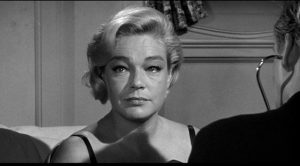 Exiled La Condesa (Simone Signoret) finds fleeting hope ... in Stanley Kramer's Ship of Fools (1965)
