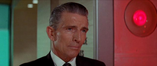 Arthur Nordlund (Michael Rennie) arrives from Washington to oversee the project in Byron Haskin's The Power (1968)
