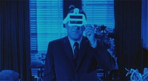 """The director explains how to use the """"ghost viewer"""" at the start of William Castle's 13 Ghosts (1960)"""