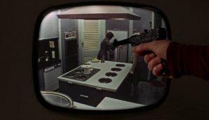 Charlie Bubbles (Albert Finney) fantasizes about destroying his life in Albert Finney's Charlie Bubbles (1968)