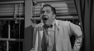 ... before tripping on LSD in William Castle's The Tingler (1959)