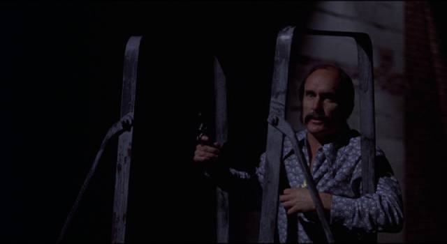 Robert Duvall commits a few fashion crimes as a cop in Howard W. Koch's Badge 373 (1973)