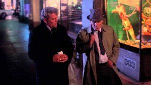 Eddie (Robert Duvall) gets advice from his commander Scanlon (Eddie Egan) in Howard W. Koch's Badge 373 (1973)
