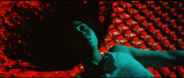 Nami (Meiko Kaji) is betrayed by her cop boyfriend in Shunya Ito's Female Prisoner 701: Scorpion (1972)