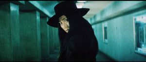 Nami (Meiko Kaji) spreads her rebellion out into the world in Yasuharu Hasebe's Female Prisoner Scorpion: 701's Grudge Song (1973)