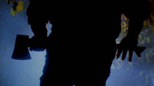 A killer stalks the woods in Joe Giannone's Madman (1981)