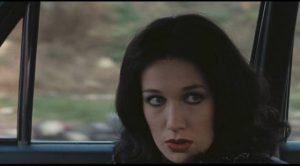 Among the property Total (Flavio Bucci) appropriates is the Butcher's mistress Anita (Daria Nicolodi) in Elio Petri's Property Is No Longer a Theft (1973)