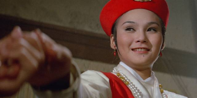 Hu Chin as Shui Mi-tao, a member of tavern staff with special skills in King Hu's The Fate of Lee Khan (1973)