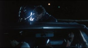 A killer attacks college students at a beach house in Buddy Cooper's The Mutilator (1984)