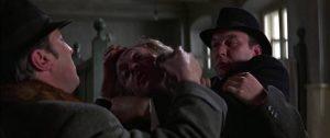 Harry Palmer (Michael Caine) runs afoul of the Latvian underground in Ken Russell's Billion Dollar Brain (1967)
