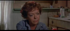 Junior's mother Elvira (Ida Lupino) has had enough of aggressive masculinity in Sam Peckinpah's Junior Bonner (1972)