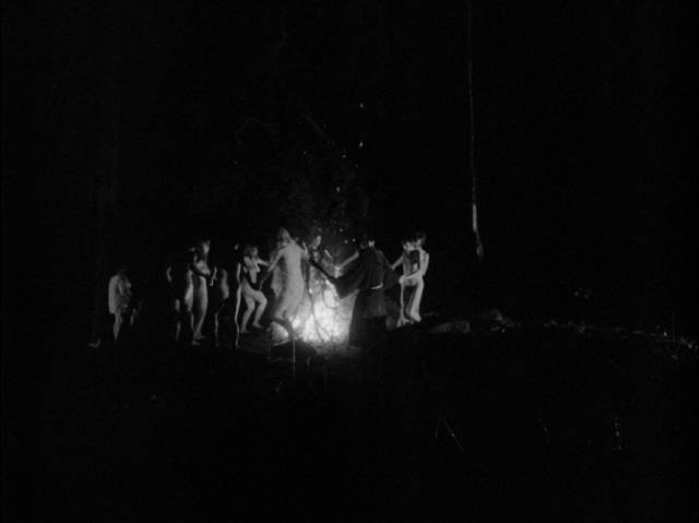Witches communing with nature at midnight in Malcolm Leigh's Legend of the Witches (1970)